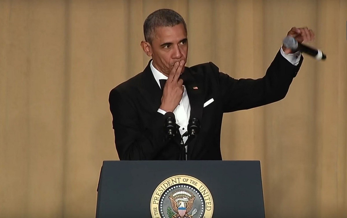 Le drop the mic par Obama