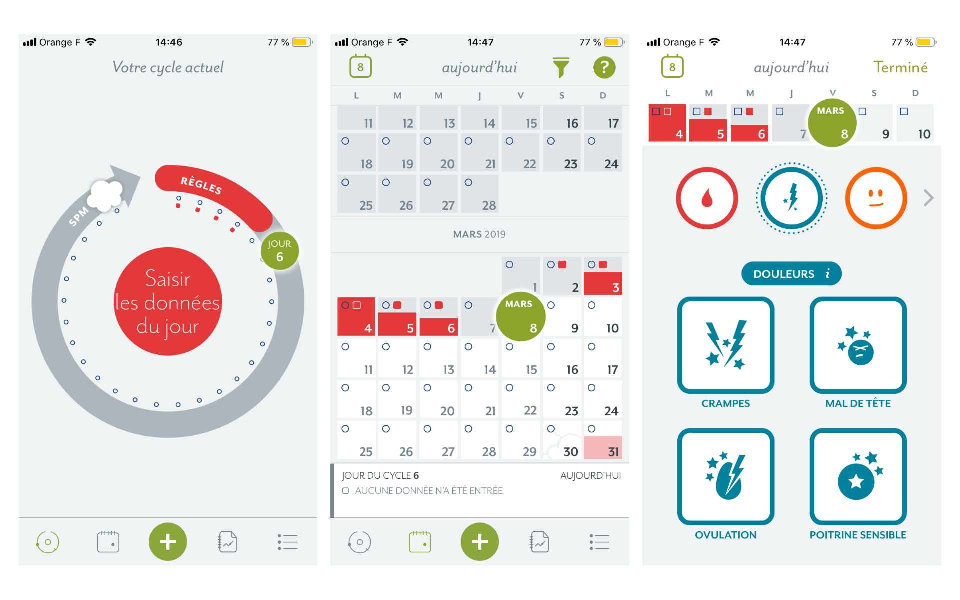 L'app de la semaine : cette application m'accompagne à chaque cycle menstruel