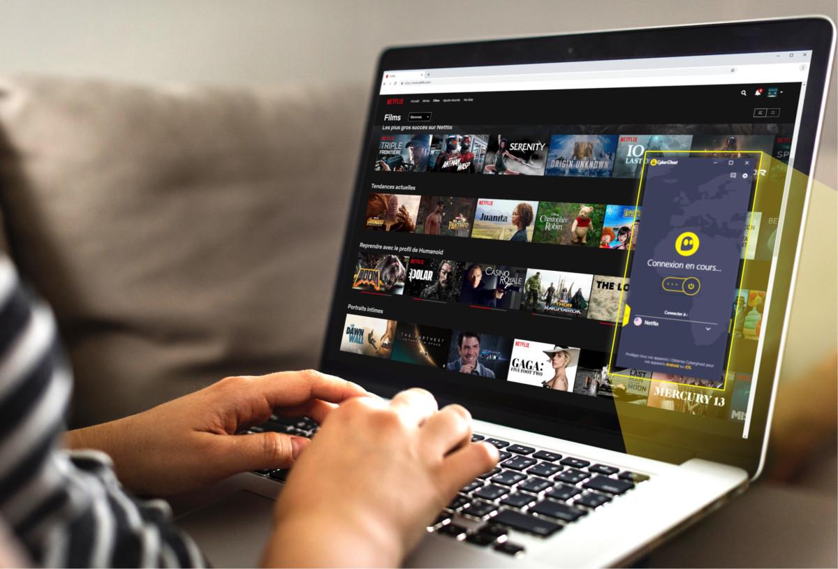 Un VPN permet d'accéder facilement au catalogue américain de Netflix.