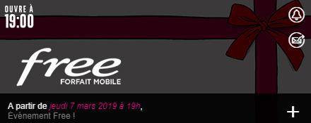 Capture d'écran réalisée sur le site de vente privée