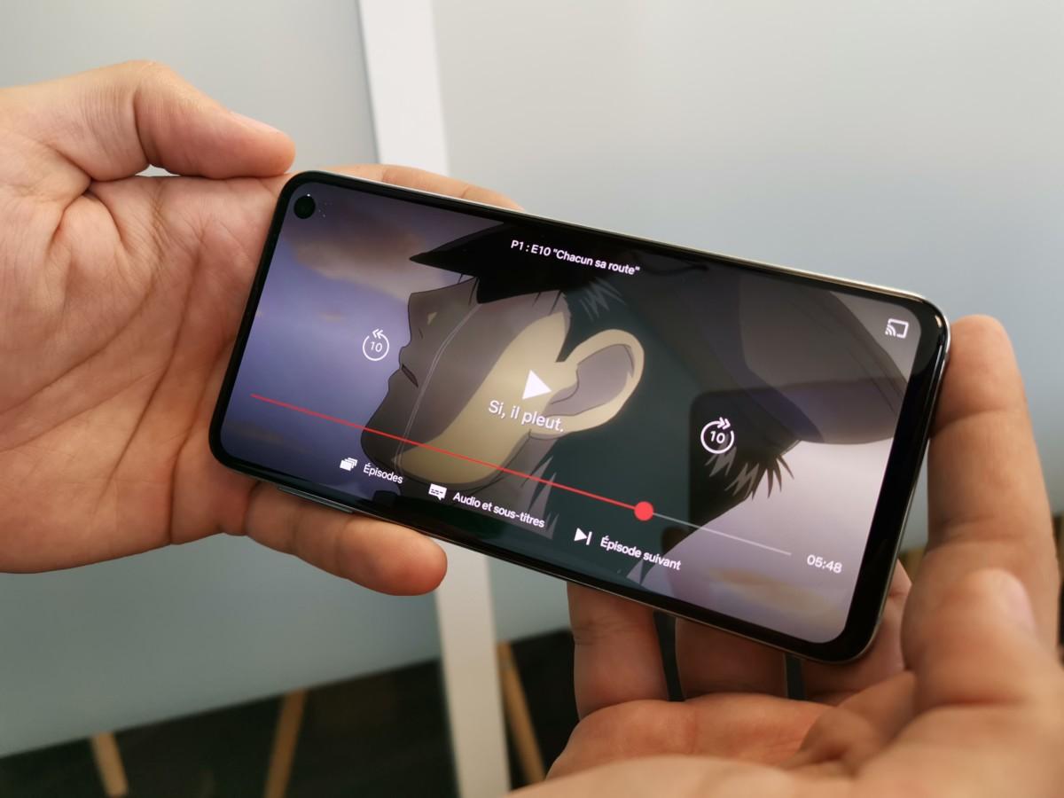 Netflix sur Samsung Galaxy S10e