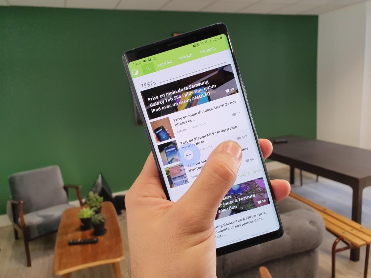 Chrome sur Android