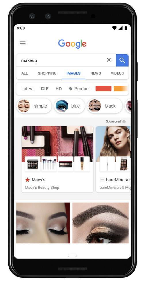 Google Images aussi va avoir droit à ses publicités