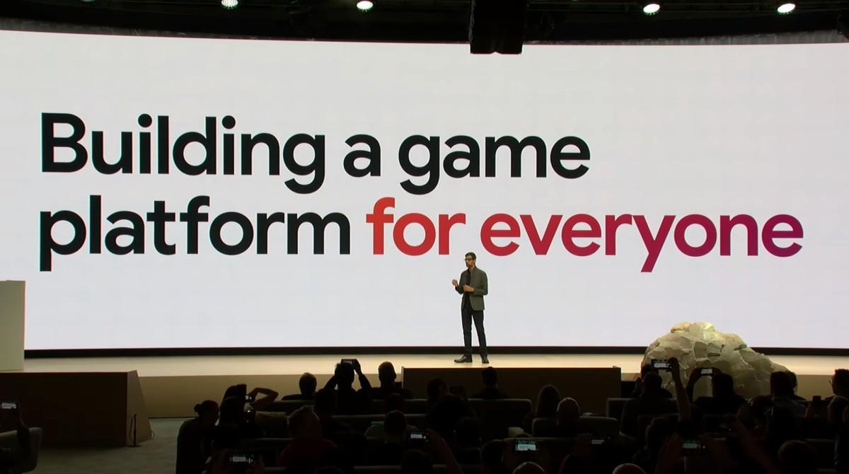 L'annonce de Google Stadia à la GDC 2019