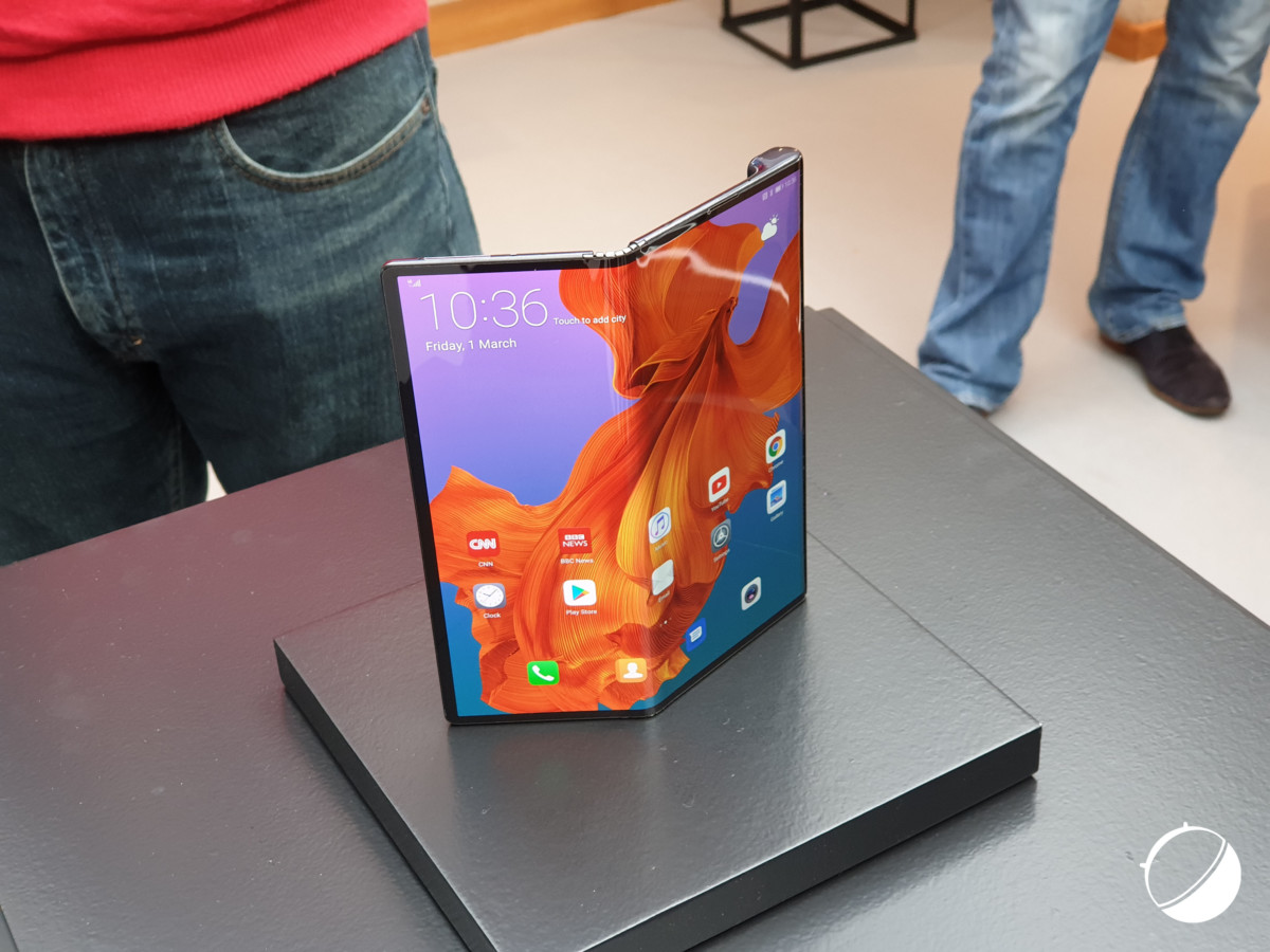 Le Huawei Mate X pour illustration