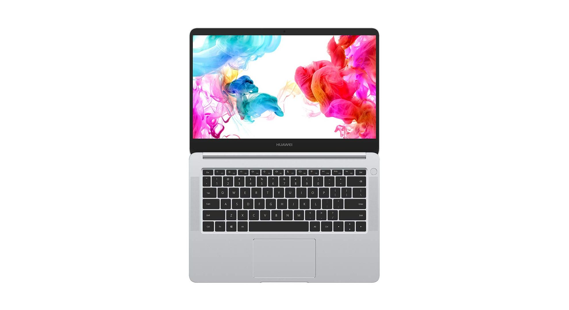 97954db2a419 Avec le Matebook D, Huawei arrive à proposer un ordinateur portable avec  des performances élevées et des fonctionnalités originales (capteur  d'empreintes, ...