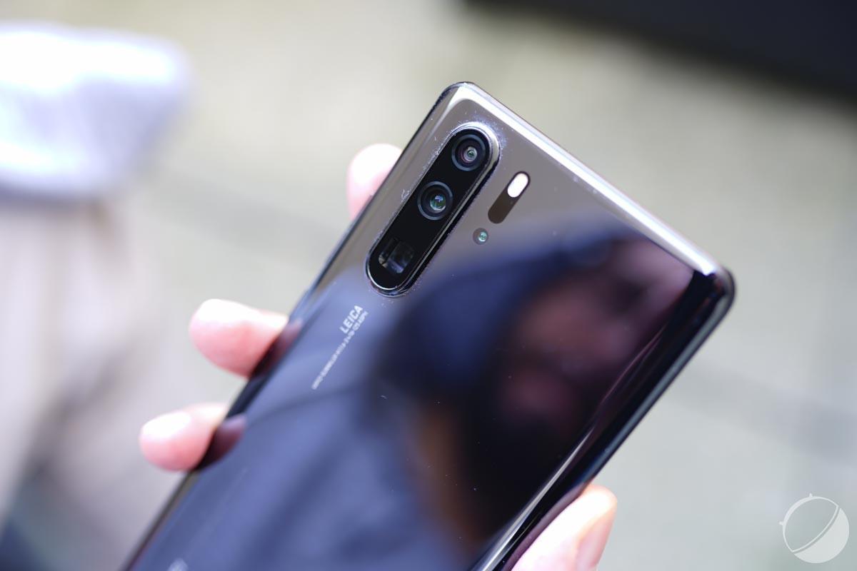 Le dos du HuaweiP30 Pro