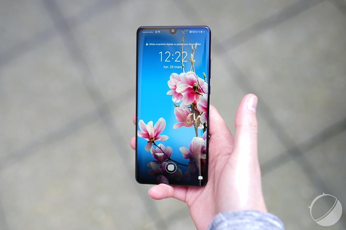 Le HuaweiP30 Pro pour illustration