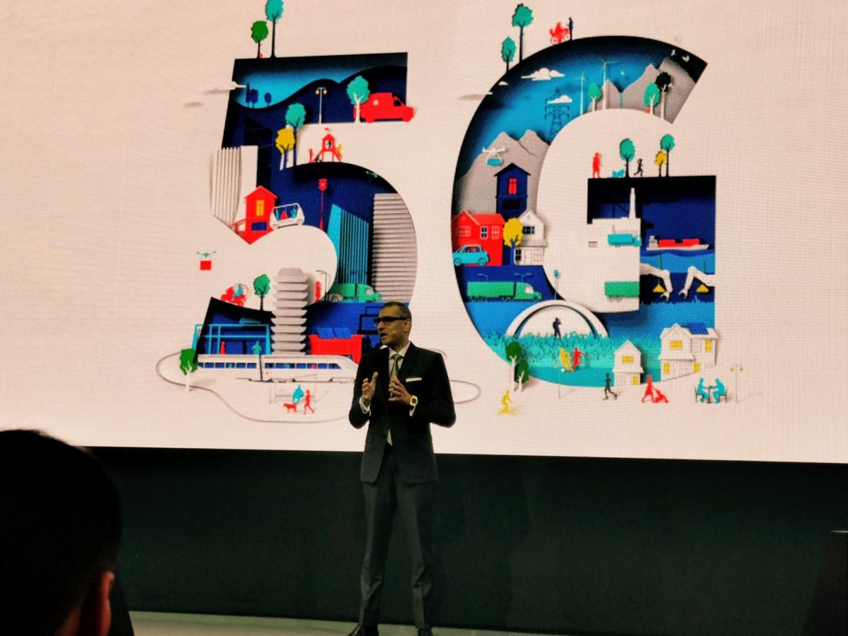Le CEO de Nokia, Rajeev Suri