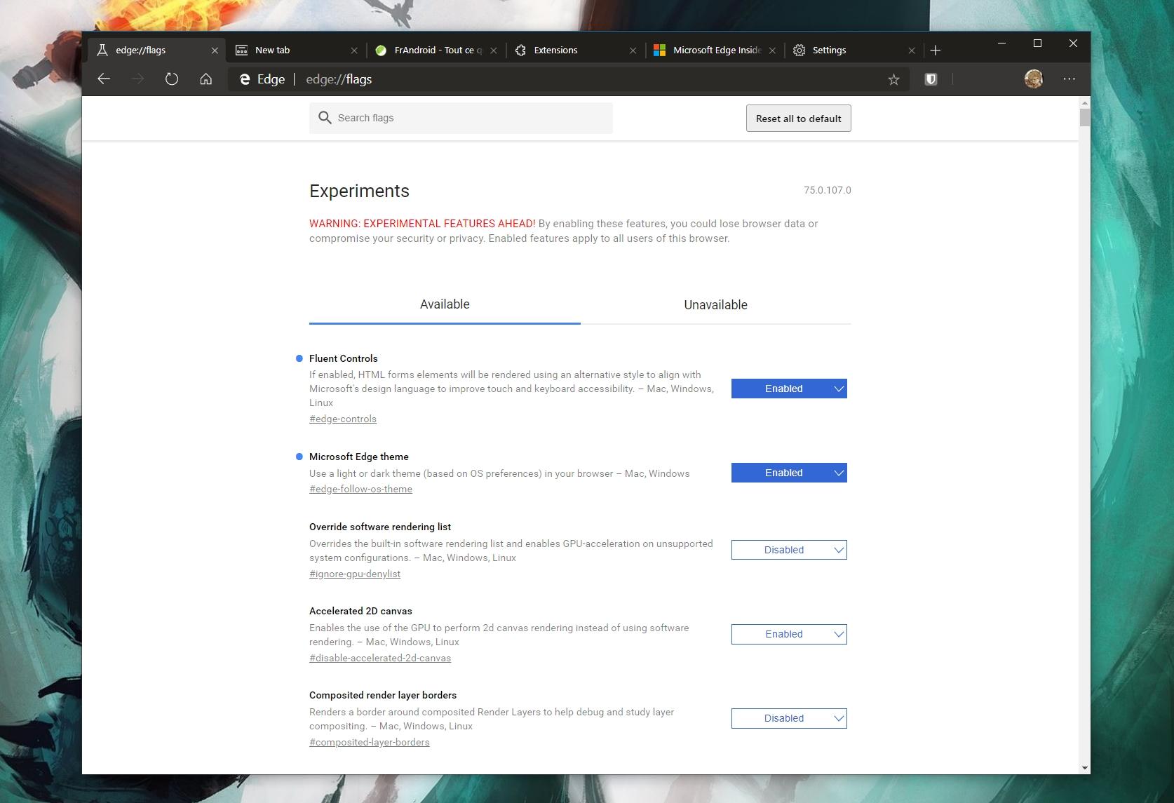 Microsoft Edge basé sur Google Chrome : nos images et premières impressions