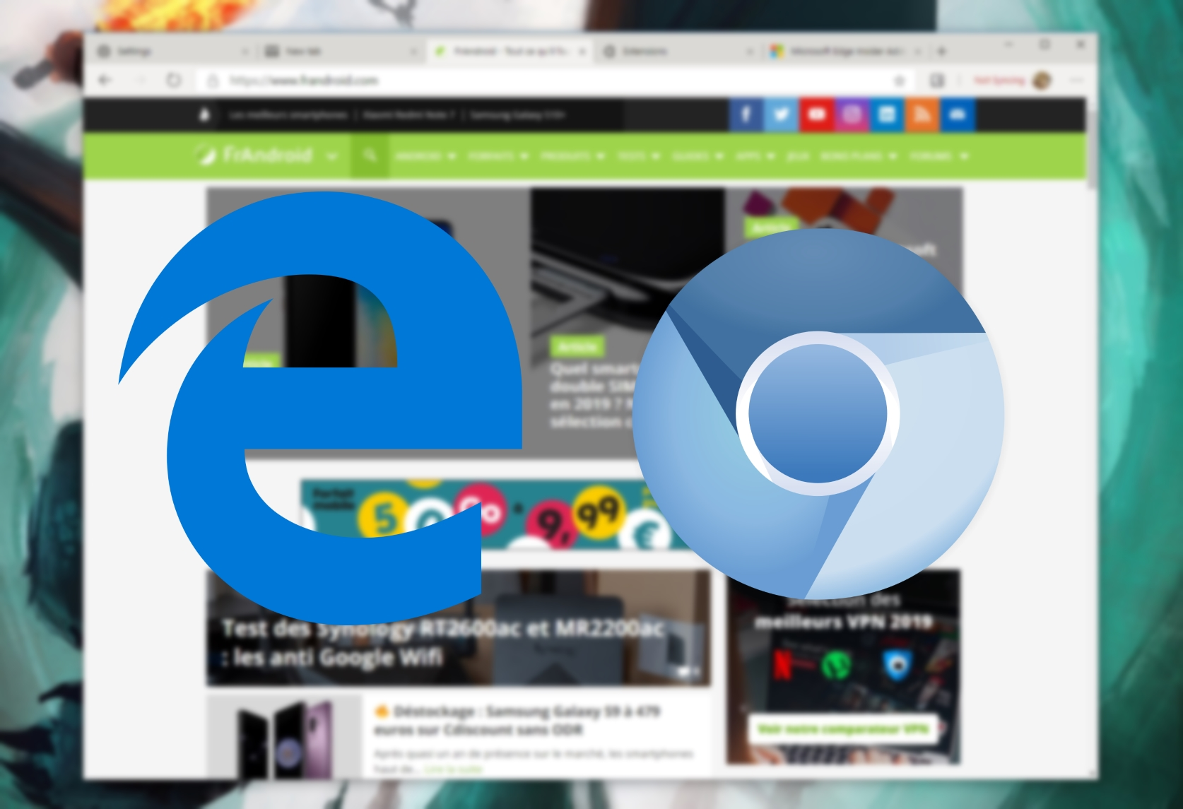 Microsoft Edge based on Google Chrome: Our pictures and