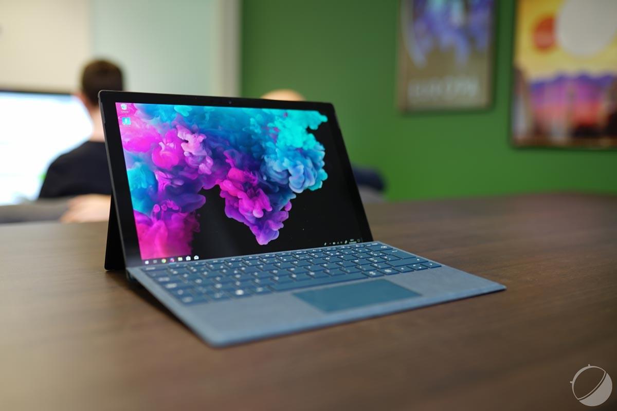 Microsoft peaufine l'usage du Surface Dock2 pour ses Surface Pro5 et 6