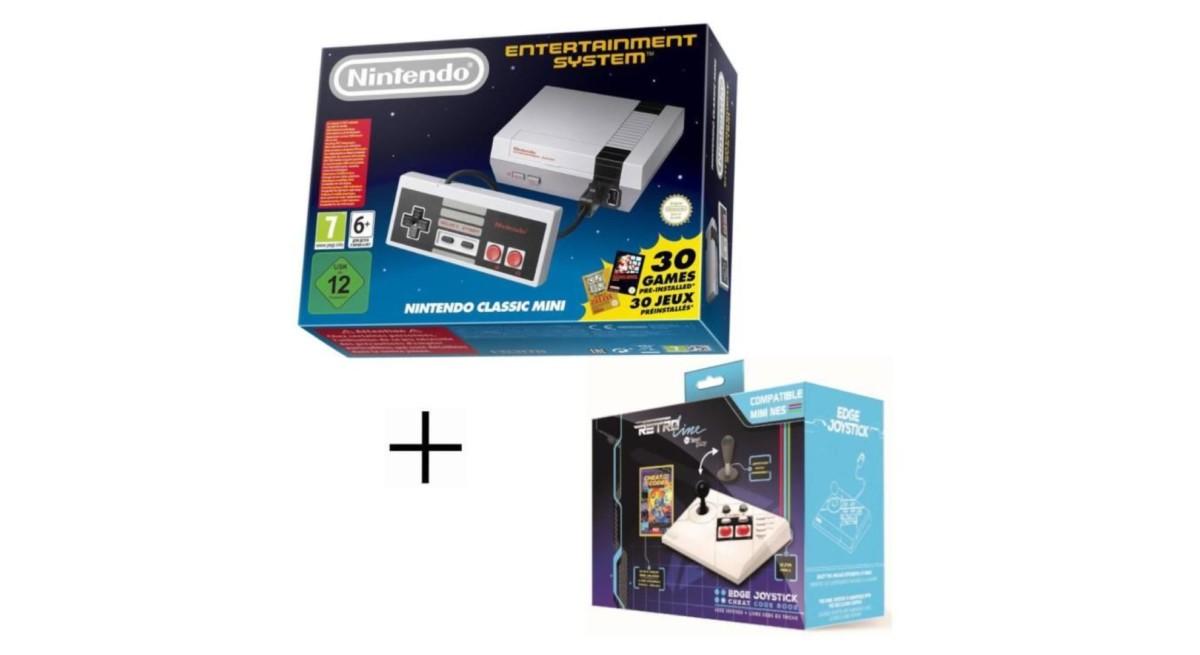 🔥 Bon plan : la Nintendo NES Classic Mini passe à 59 euros avec un Joystick offert