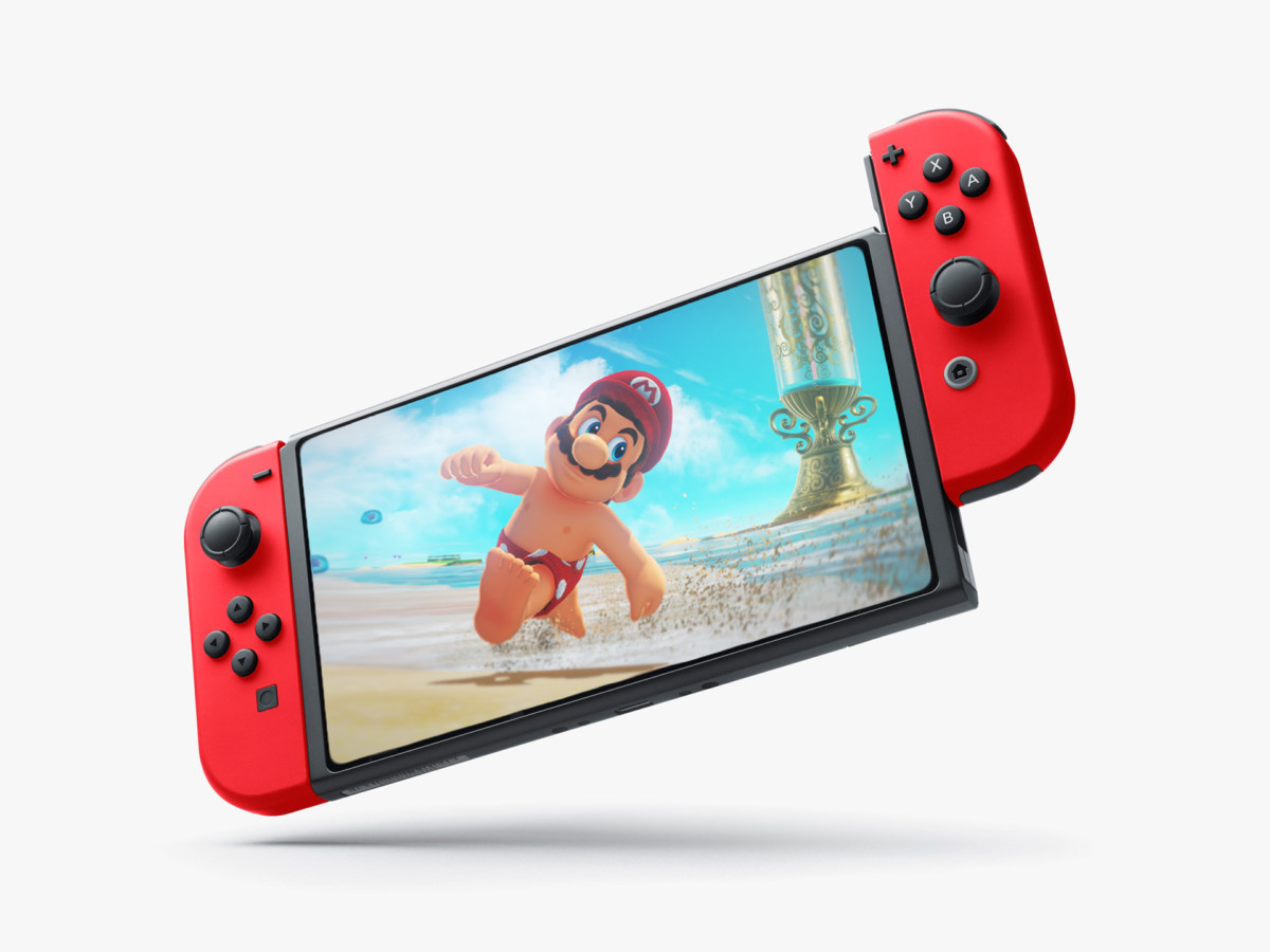 Un concept imaginaire de « Switch Pro »