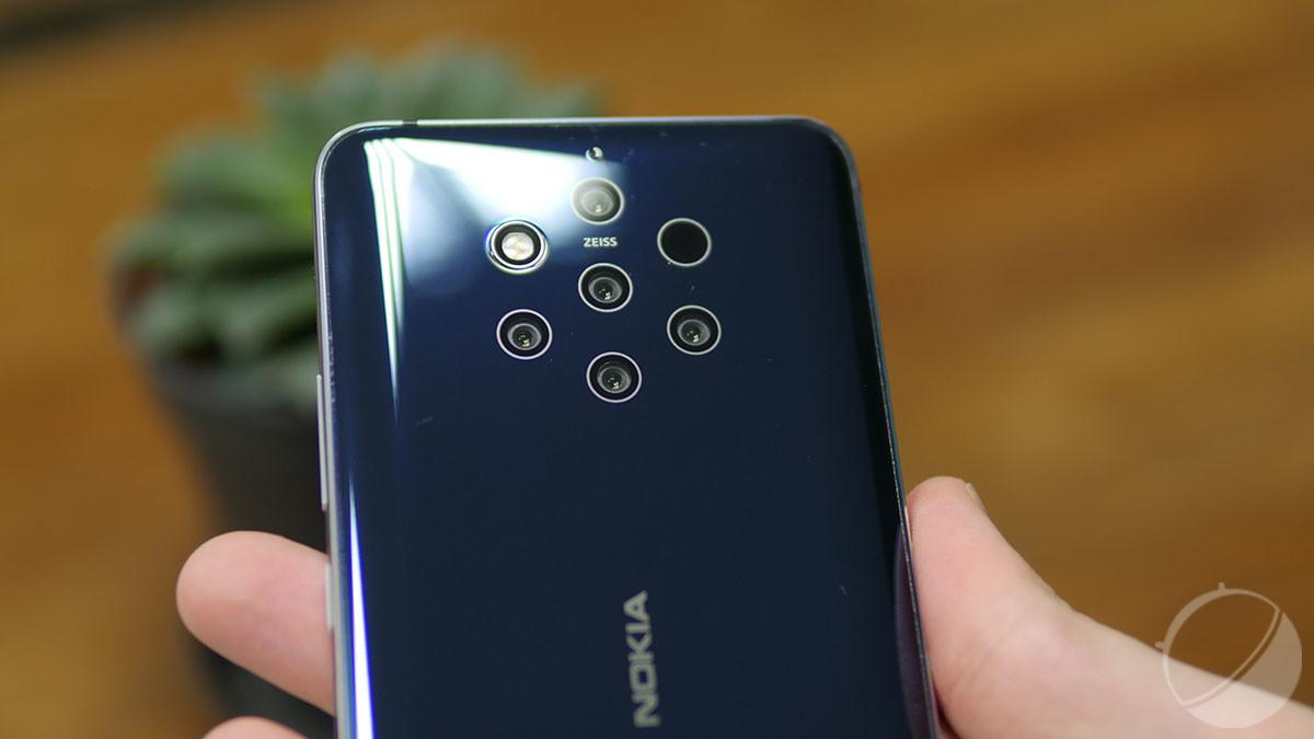 Le Nokia 9 Pureview.