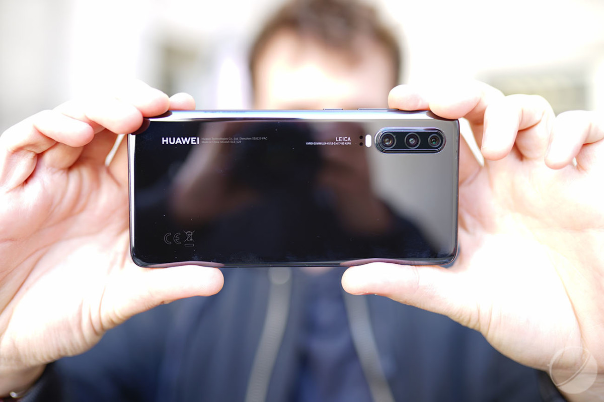 Le dos du Huawei P30