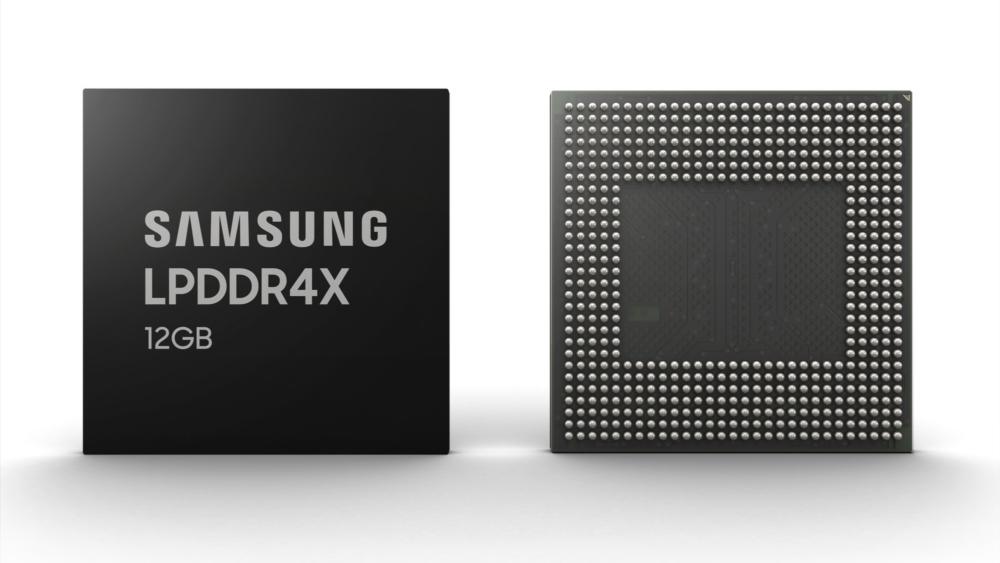 Samsung lance une puce de 12 Go de RAM pour les prochains smartphones haut de gamme