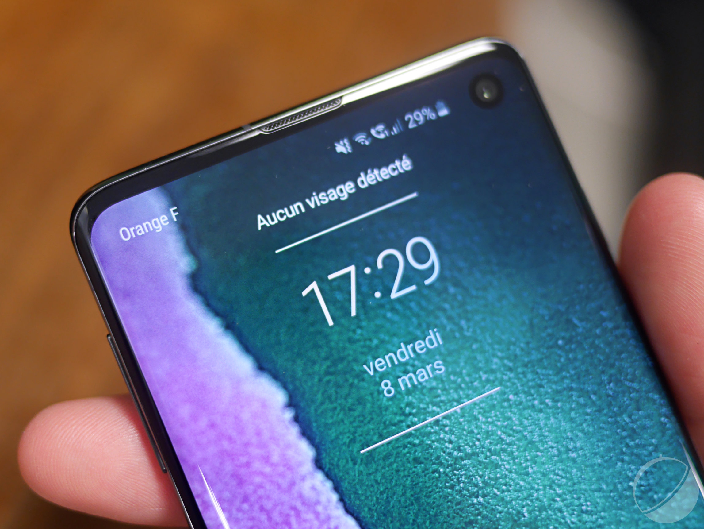 Samsung Galaxy S10 : la reconnaissance faciale a des problèmes, utilisez le lecteur d'empreintes