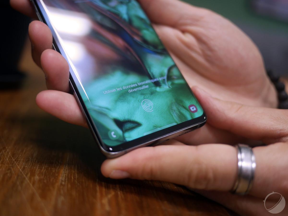Samsung Galaxy S10 : les performances du lecteur d'empreintes sous écran seront améliorées
