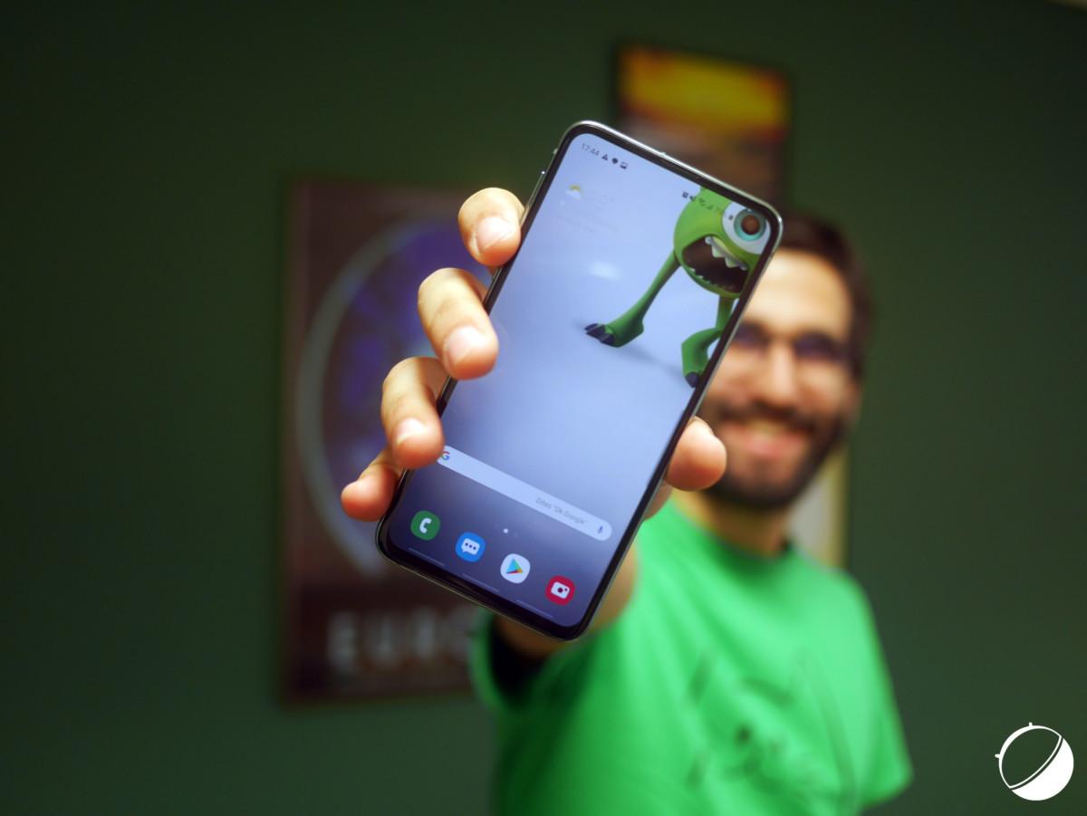 One UI sur le Samsung Galaxy S10