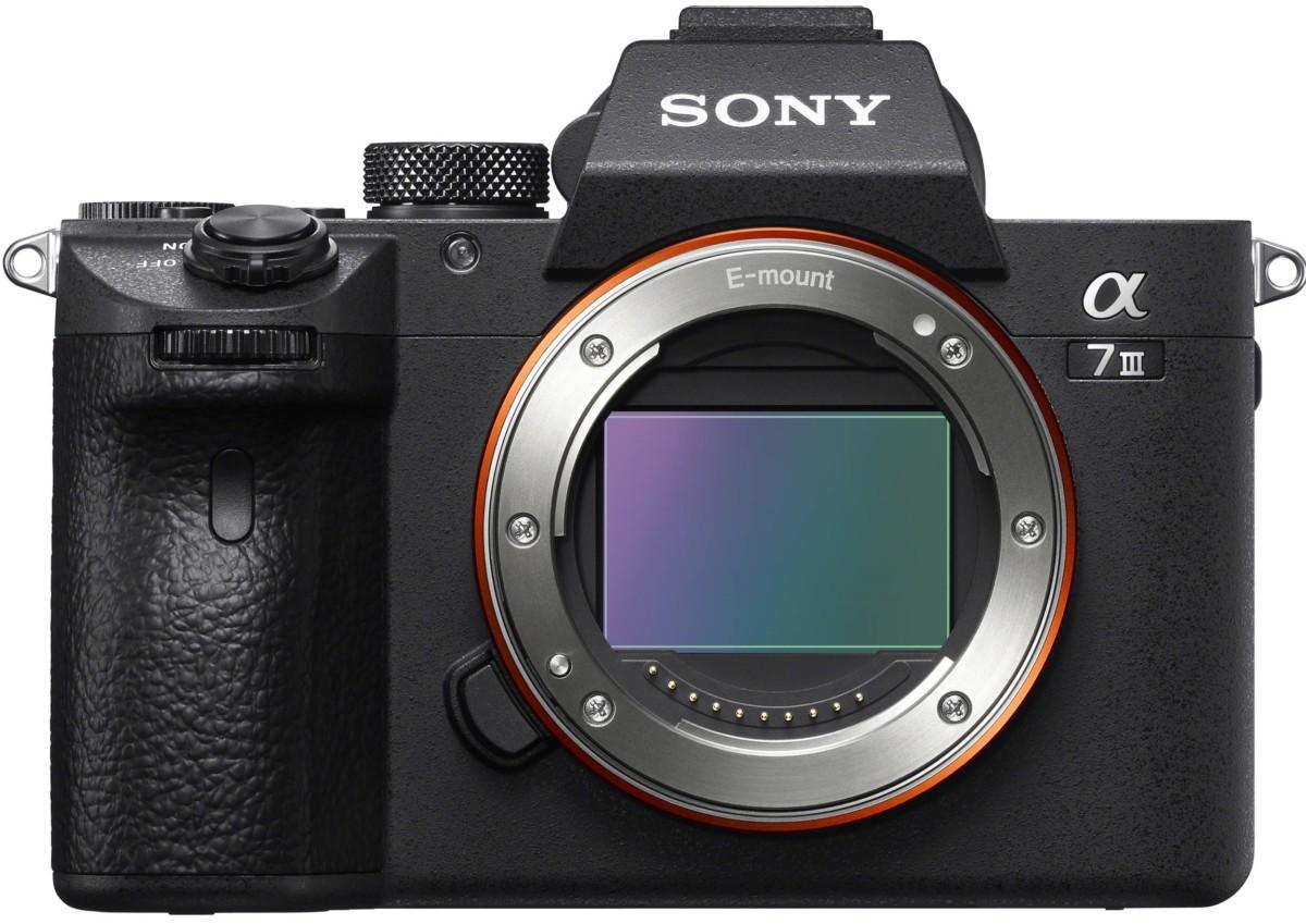 Le Sony Alpha7 III est équipé d'un capteur de 24×36 mm dit «full frame»