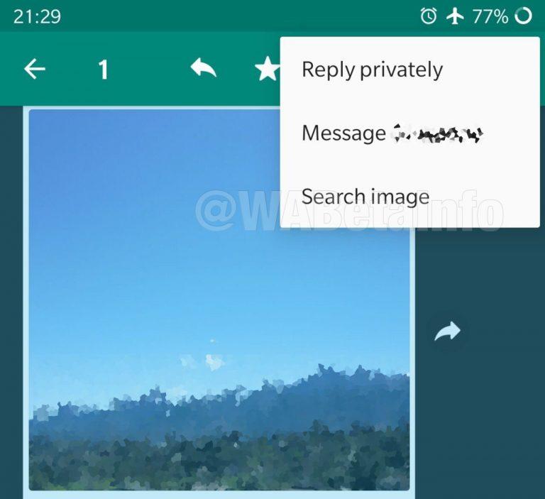 WhatsApp veut enrayer les fake news avec la recherche d'images inversée de Google