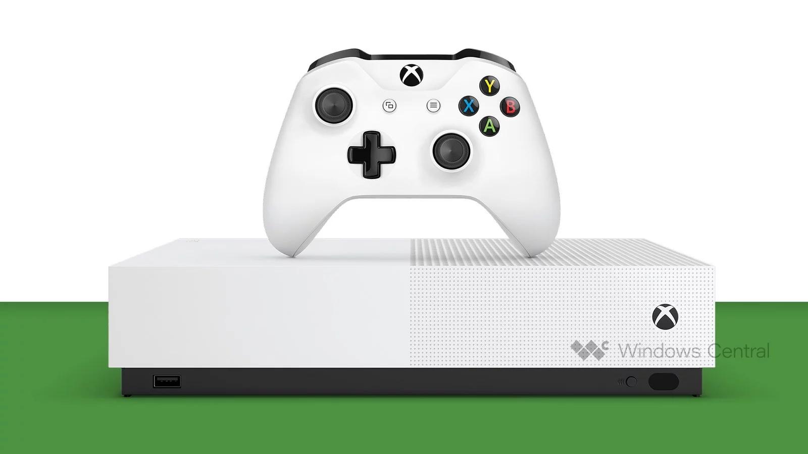 Des détails sur la Xbox One S digitale dévoilés ?
