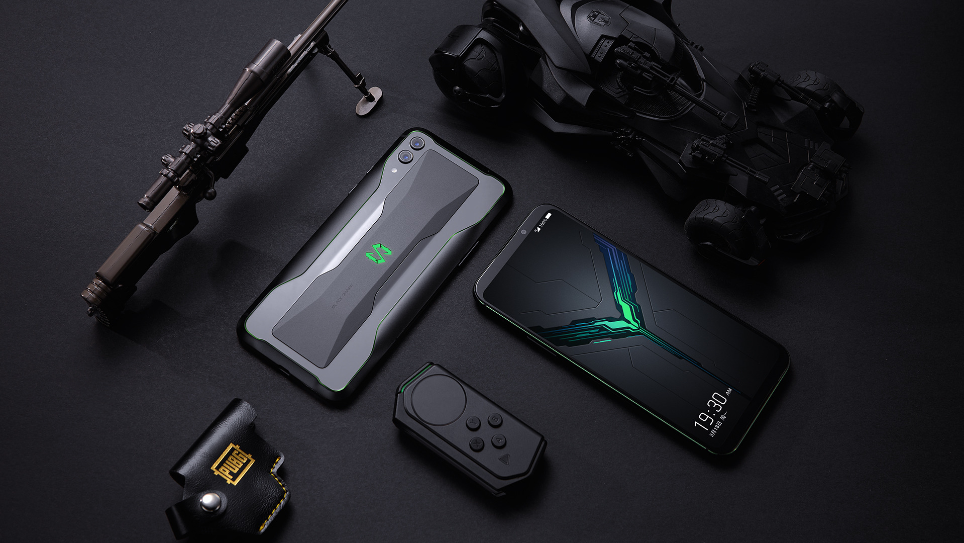 Black Shark 2 officialisé : 12 Go de RAM pour le smartphone se voulant Nintendo Switch