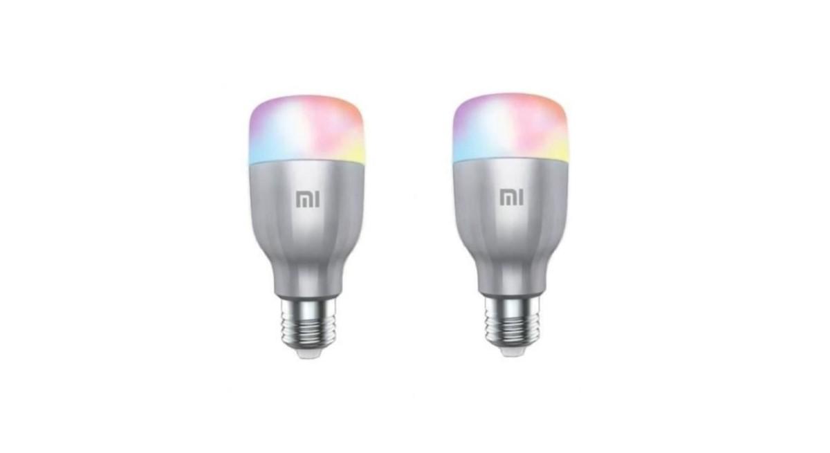 🔥 Bon plan : deux ampoules Xiaomi (compatibles Google Assistant et Alexa) à 29 euros au lieu de 39 euros