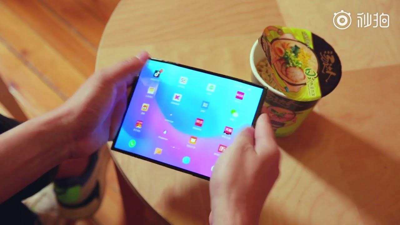 Xiaomi : son smartphone pliable serait équipé de trois capteurs photo… mal placés ?
