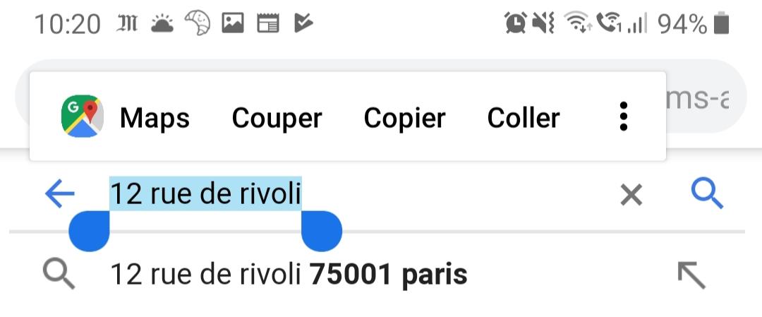 Google Maps : copier-coller une adresse devient encore plus simple