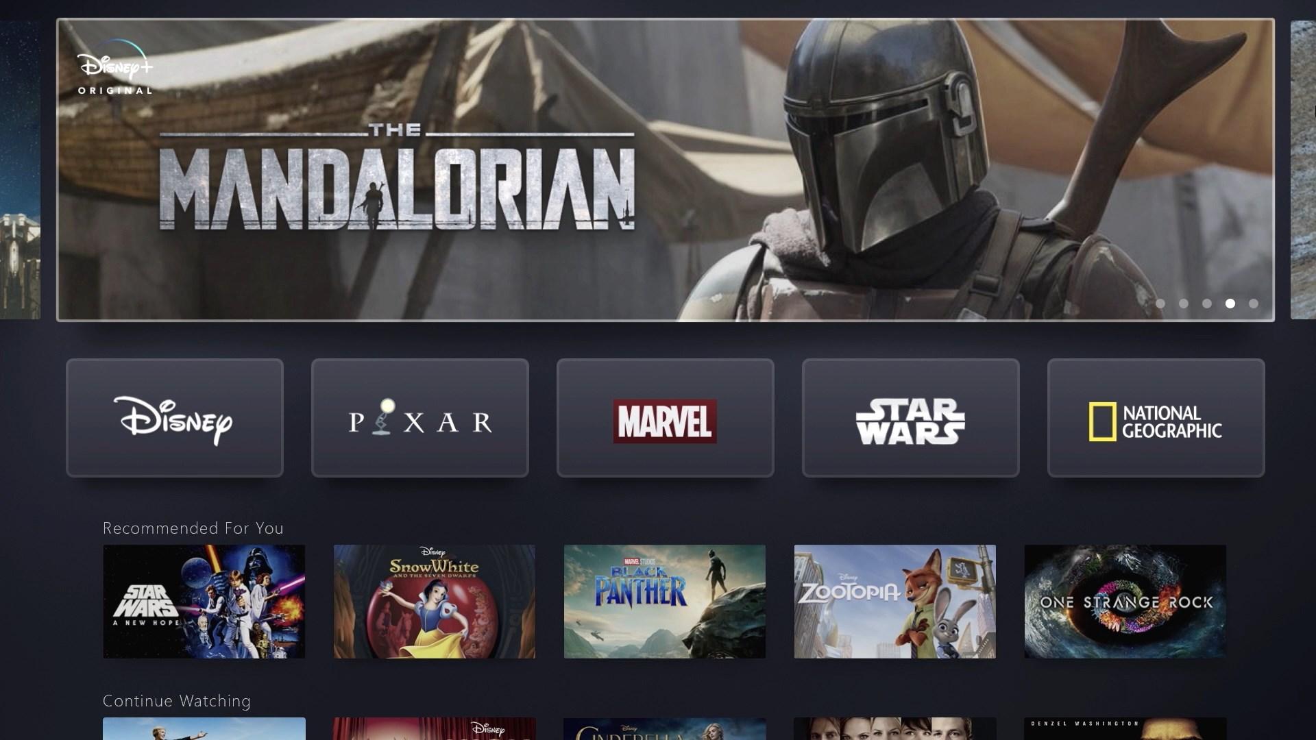 Voici à quoi ressemblera le service de streaming de Disney