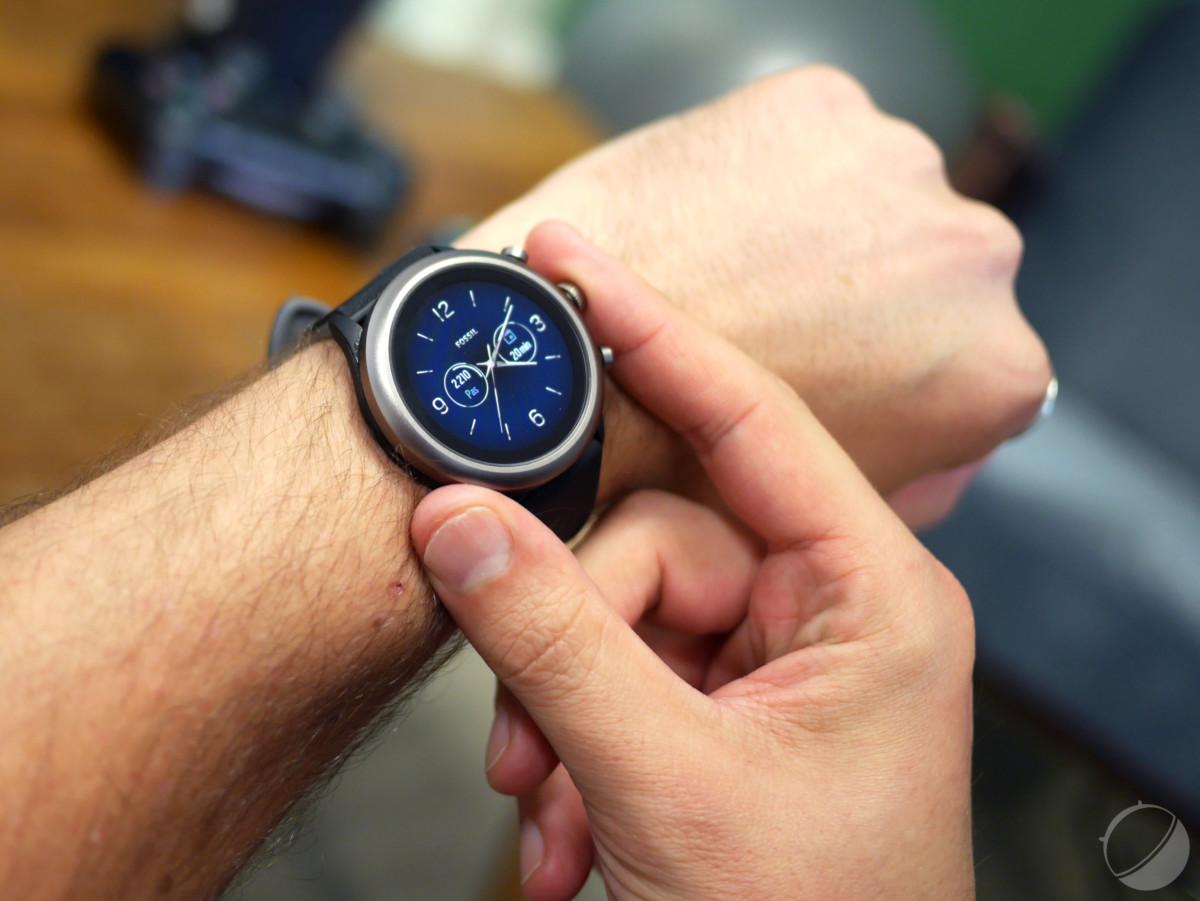 La montre Fossil Sport sous Wear OS