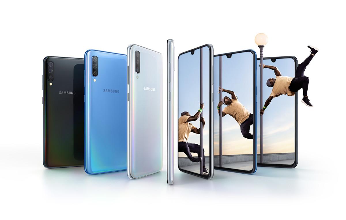 Photo d'illustration du Samsung Galaxy A70