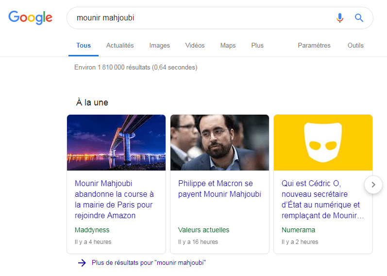 Google News doesn't sort out April Fool's Day from real news.  Credit: Raphael Grably