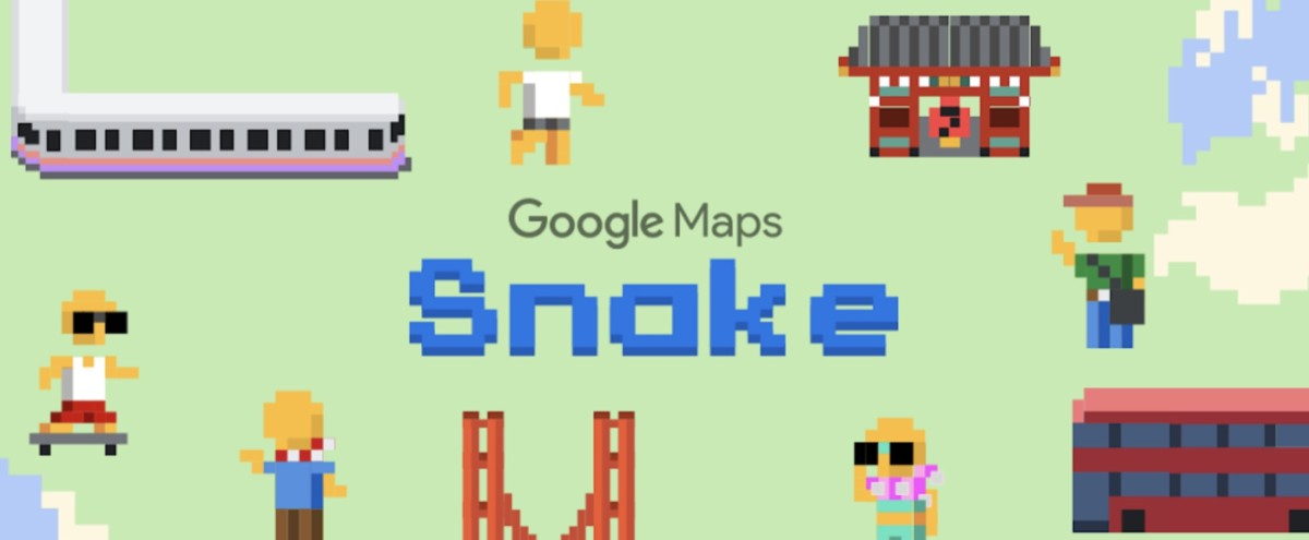 Snake vous manque ? Vous pouvez y jouer sur Google Maps
