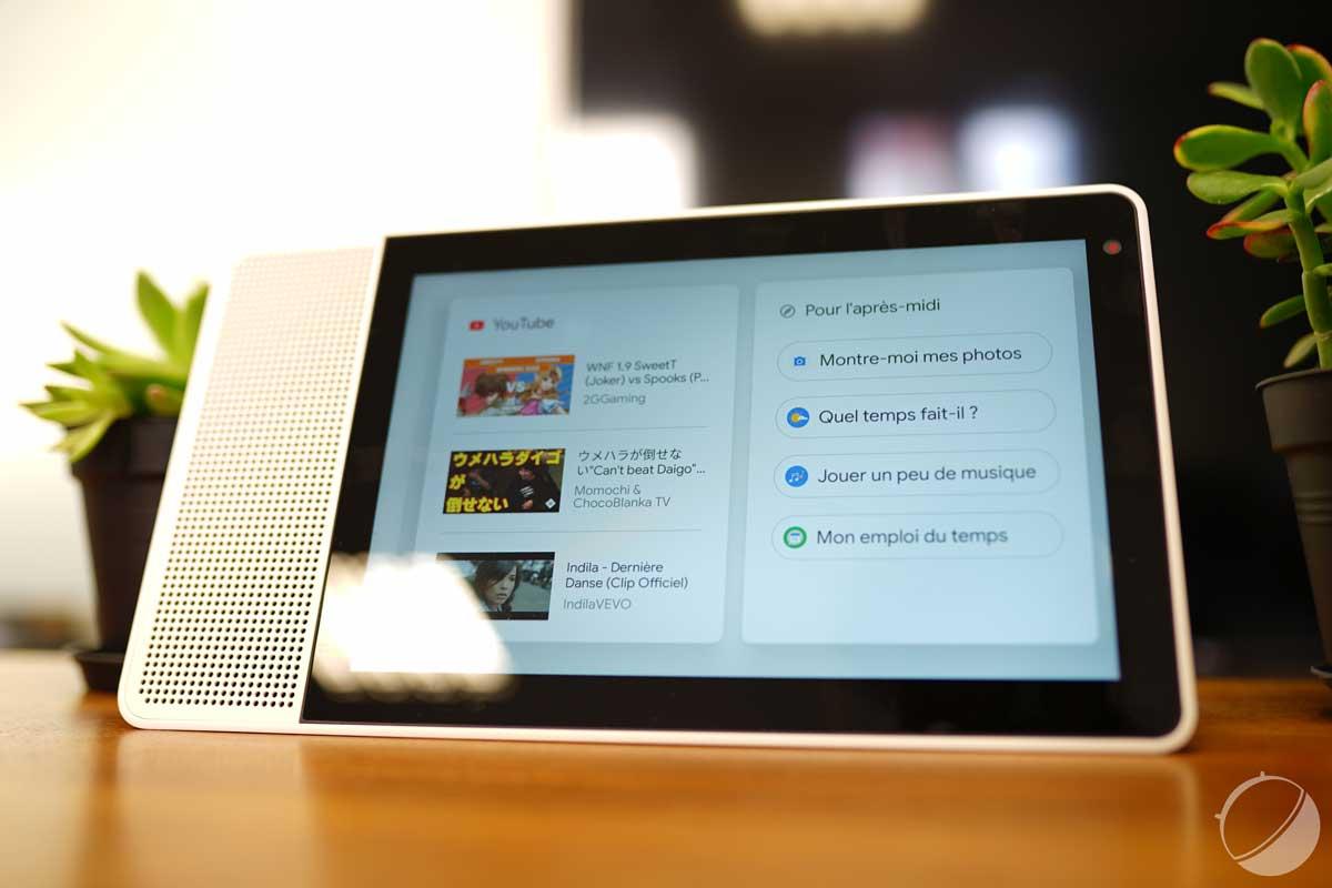 Test du Lenovo Smart Display : une excellente surprise, aussi belle qu'utile