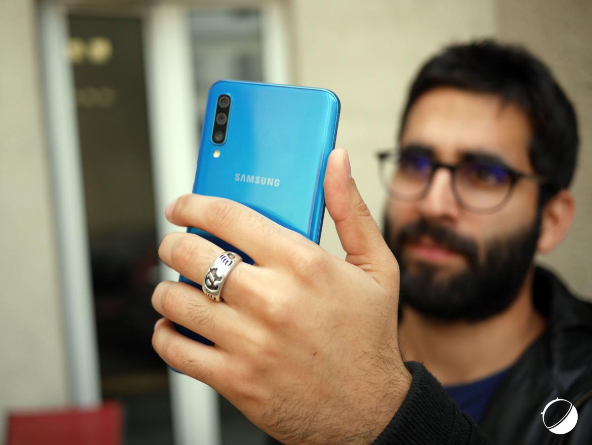 Module plus discret sur le Galaxy A50
