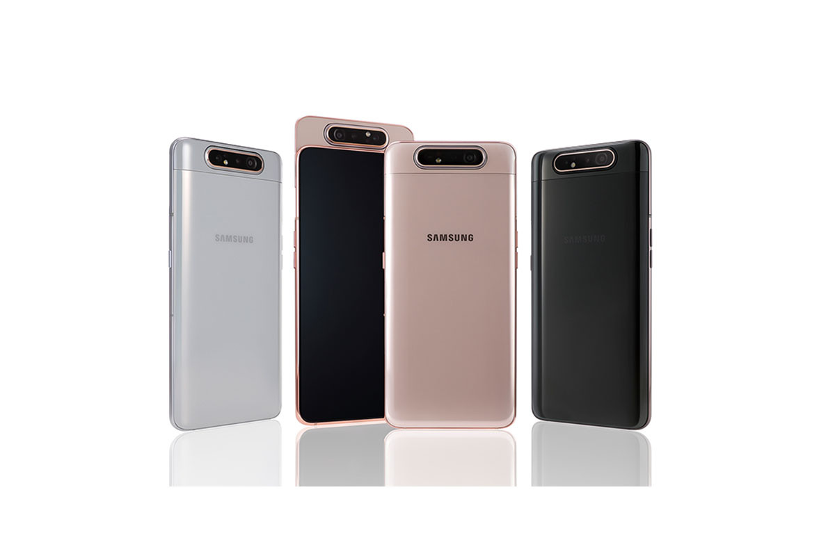Samsung Galaxy A80 Officialise Triple Appareil Photo