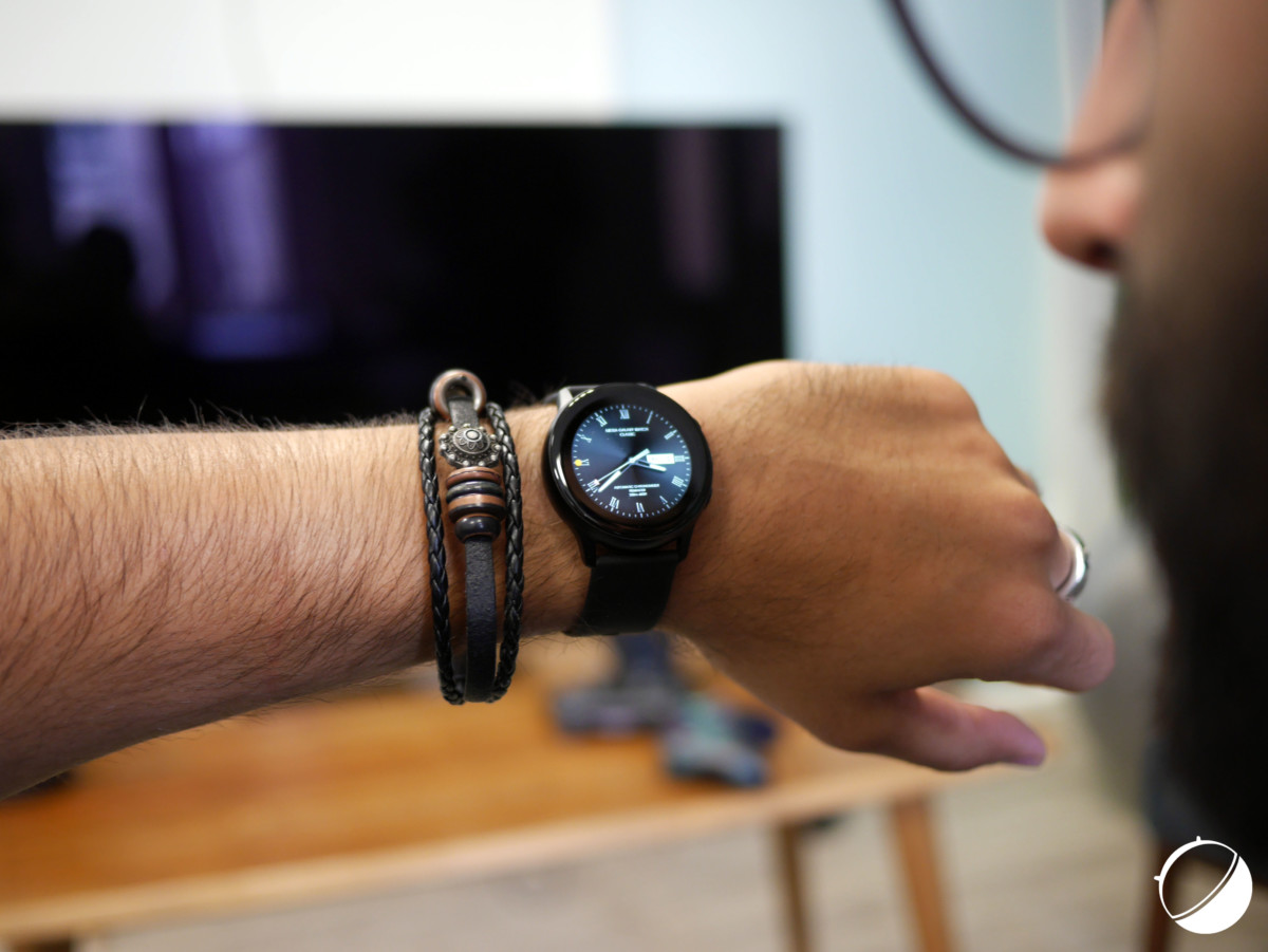 La Galaxy Watch Active // Crédit : Frandroid