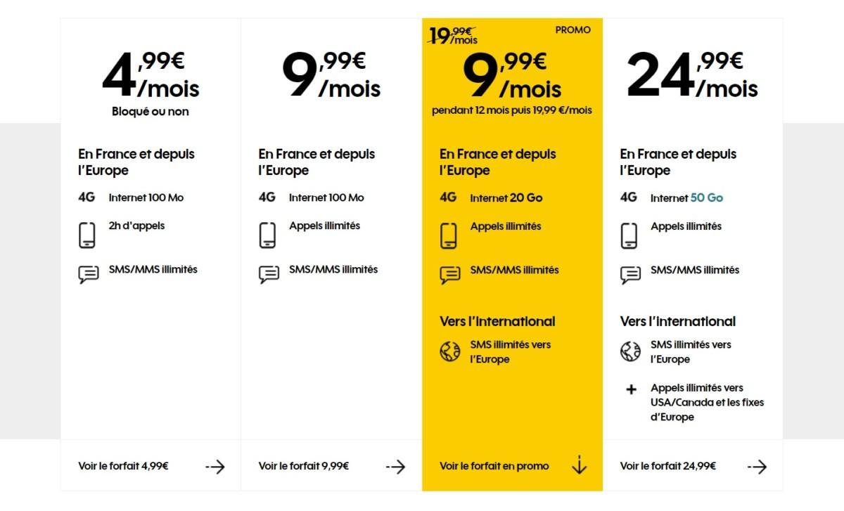 🔥 Forfait mobile : l'offre Sosh 20 Go à 9,99 euros par mois se prolonge jusqu'au 14 mai