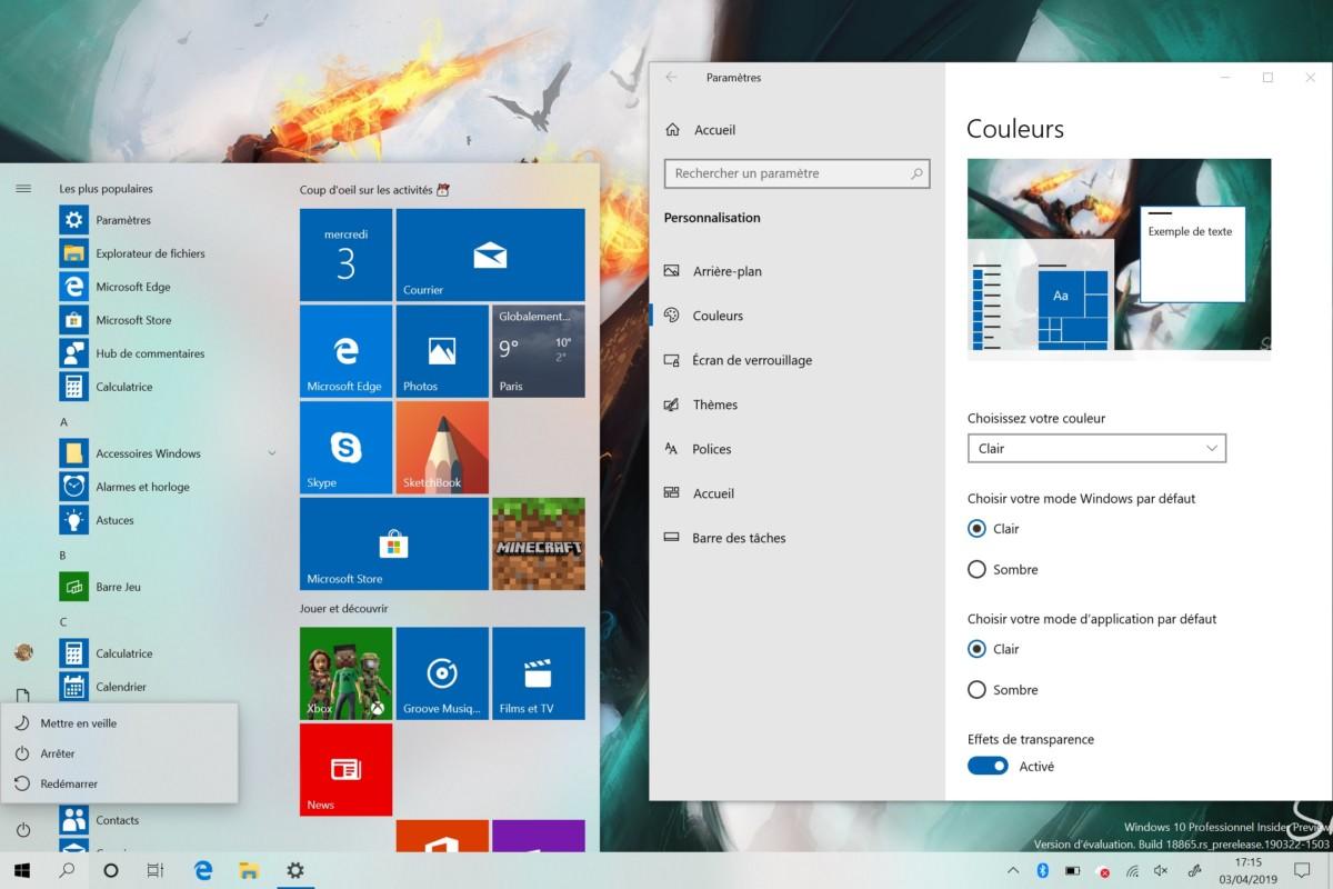 Windows 19H1 themes (2)