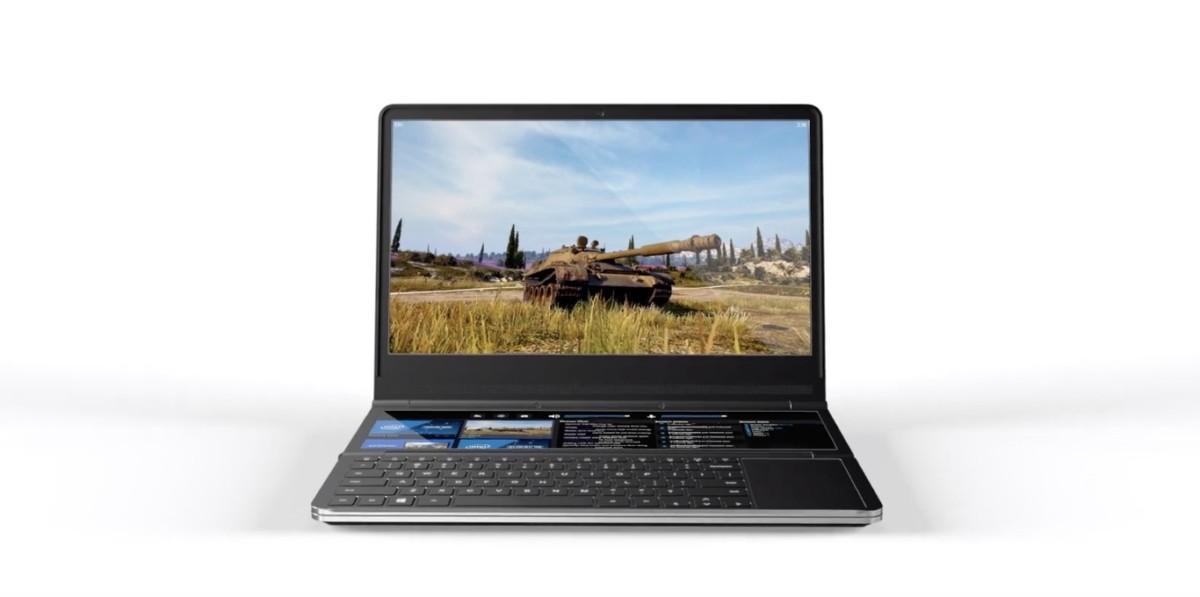 L'Intel Honeycomb Glacier ne ressemble à aucun autre PC avec ses deux écrans, il vient d'être dévoilé au Computex 2019.