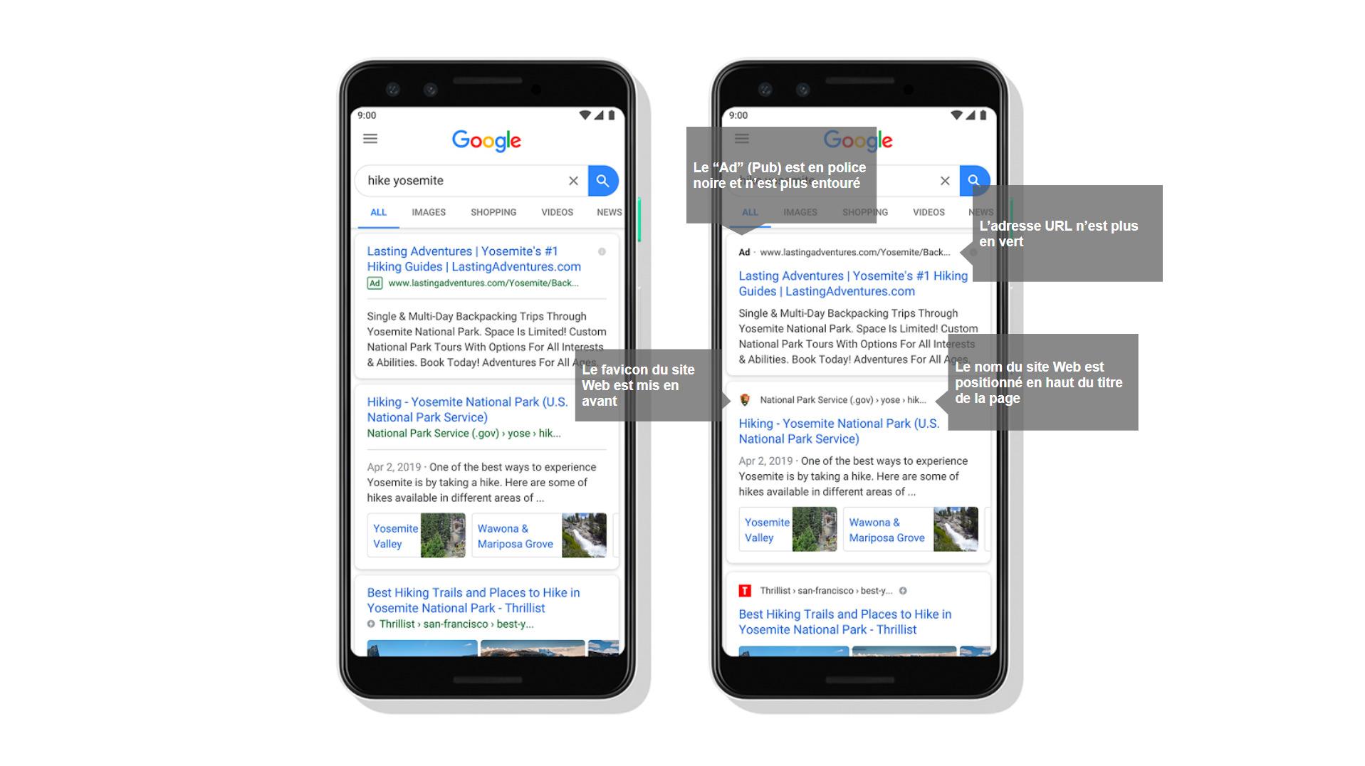 recherche google photo iphone