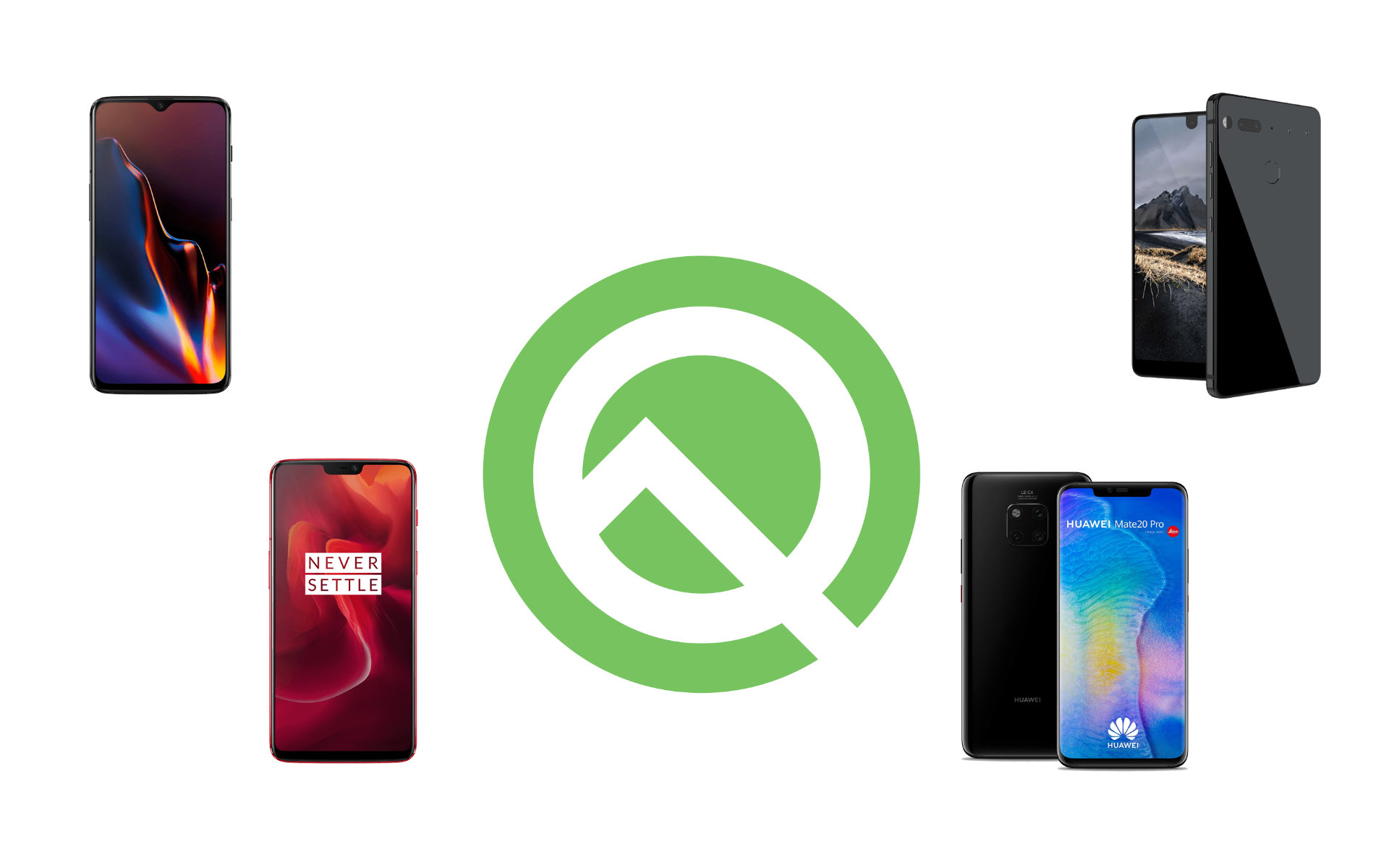 Android 10 Q Beta est disponible sur 21 smartphones chez 12 marques