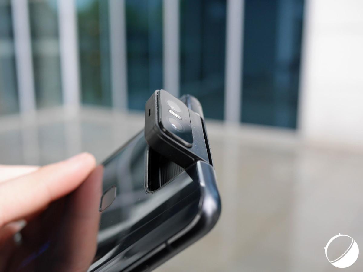 L'appareil photo du Zenfone 6