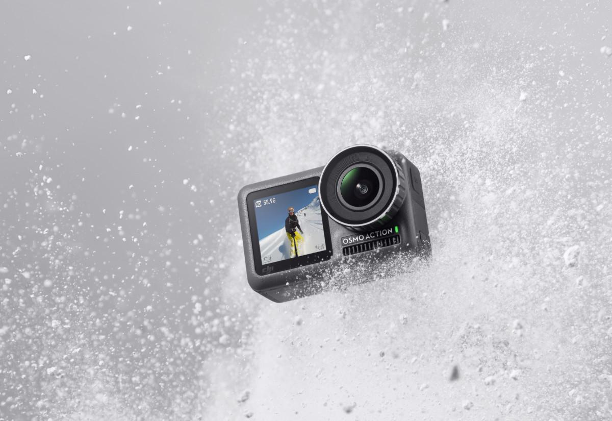DJI Osmo Action officialisée : contre la GoPro, la caméra mise sur la stabilisation