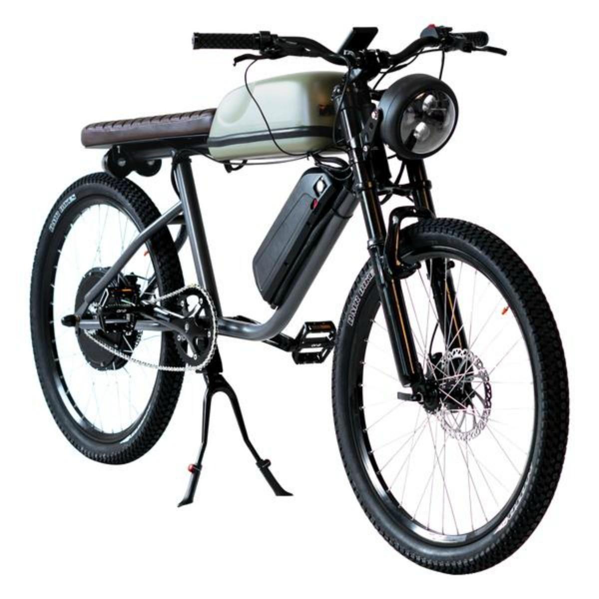 Titan R : un vélo électrique puissant et agile aux airs de Cafe Racer squelettique