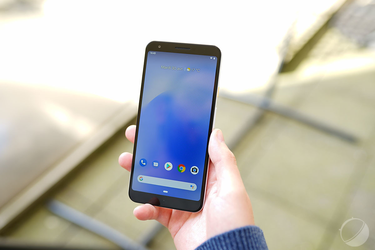 Le Google Pixel 3a XL