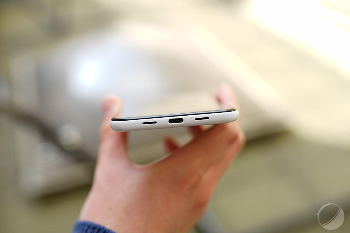 La prise USB-C du Google Pixel 3a XL